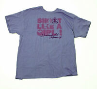 Springfield Armory Shoot Like a Girl Womens Blue Gray XL