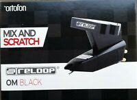 Reloop Om Black Mix and Scratch Testina con Stilo Sferico by Ortofon