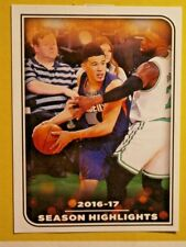 DEVIN BOOKER #4 ( SEASON HL) PANINI  NBA 17/18   EUROPEAN EDITION STICKER