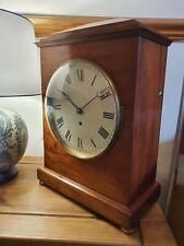 Large Antique Fusee Bracket Clock