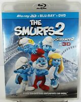 The Smurfs 2 Bilingual - Blu-ray 3D/ Blu-ray+DVD Combo Pack, New/Sealed