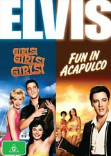 Elvis Presley Girls Girls Girls Fun in Acapulco DVD 2-movie Musical Music R4