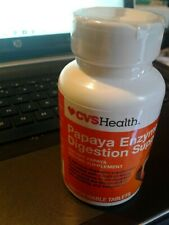 CVS PAPAYA DIGESTIVE ENZYME SUPPORT  100 CHEWABLES TABLETS Digestive Aid