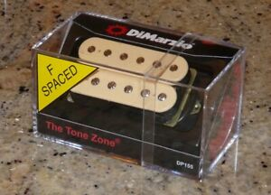 Dimarzio DP155F TONE ZONE in CREAM Pickup NEW fits Ibanez,RG,JEM,  F-Spaced
