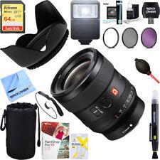 Sony FE 24mm F1.4 GM Alpha Full-frame E-mount G Master Lens + 64GB Ultimate Kit