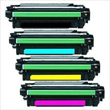 HP CE264X CF031A CF032A CF033A CARTRIDGE SET 4 TONERS Laserjet CM4540 CM4540F