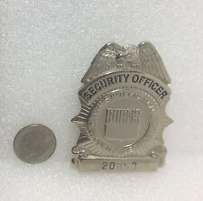 Burns International Security Services Security Officer #20853 Pin