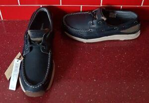 BNWT Men's Henri Lloyd Antibes Leather Deck Shoes Size Uk 8