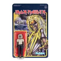 Iron Maiden Killers Killer Eddie Mascot Figur Reaction 3 3/4 Inch Super7