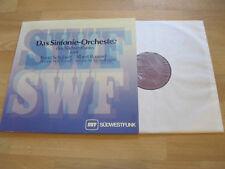 LP Sinfonie Orchester Südwestfunk spielt Schubert Roussel Vinyl SWF 55