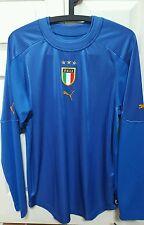 ITALY ITALIA PUMA OFFICIAL HOME FOOTBALL BNWT HOME SHIRT Sz L by Neil Barrett