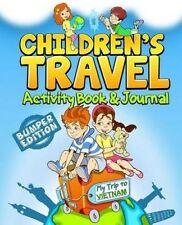 NEW Children's Travel Activity Book & Journal: My Trip to Vietnam