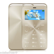 Pocket Mini Slim Card Cell Mobile Phone Cellphone GSM SIM Ultra Thin Bluetooth