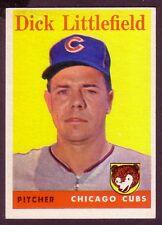 1958 TOPPS DICK LITTLEFIELD CARD NO:241 DL24 NEAR MINT