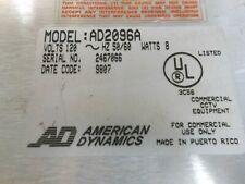 American Dynamics Ad2096A Alarm Interface Unit 120 Volts 50/60Hz 8W