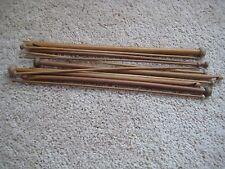 "12 Sz 13"" Patina Afghan  crochet hooks Tunisian bamboo US3-15/D-N(3.25 - 10 mm)"