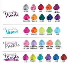 Pravana-chromasilk-vivids-pastels-neons-locked-in-jew-tinte para el cabello Silver