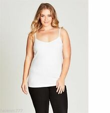 Women's Spaghetti Strap Sleeve Solid Cotton Blend Tank, Cami Tops & Blouses