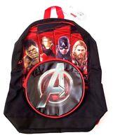 "Marvel Comics Civil War Captain America VS Iron Man Backpack Book-Bag 15"" x 13"""