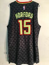 Adidas Swingman 2015-16 NBA Jersey Atlanta Hawks Al Horford Black Alt sz L