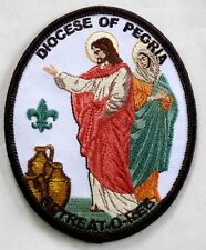 Peoria Diocese (IL) Scout Retreat-O-Ree Pocket Patch  BSA