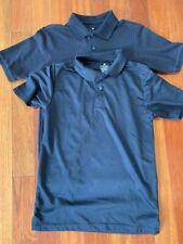 Chaps Boys Size Large 14-16 Polo Shirts School Uniform 2 Piece Lot