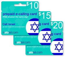 Cheap International calling card for Israel with emailed PIN
