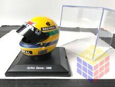 HELMET CASCO F1 / F-1 HONDA 1:5 Ayrton Senna 1988 World Champion Helm (NEW+CASE)