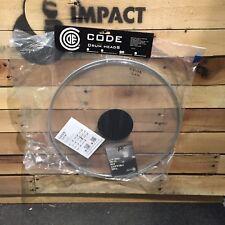 """Code de peaux de tambours - 18"""" droit clair Single Ply Batter Bass Drum Head-ancien modèle Peau"""