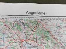 Angoulême (18), carte seconde guerre, WW2