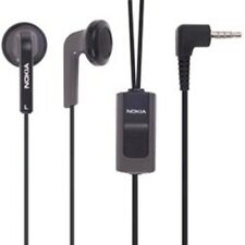 New OEM Nokia 2.5mm Hands Free Headset Earbuds with Microphone / Answer Button
