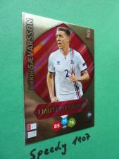 Panini RUSSIA 2018 Fifa World Cup Limited Edition Saevarsson Adrenalyn Iceland