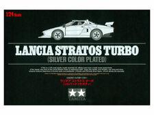 Tamiya 25418 - 1/24 Lancia Stratos Turbo (Silver Color Plated) - New