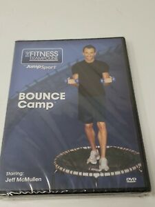 The Fitness Trampoline by Jumpsport BOUNCE Camp Starring Jeff McMullen NEW DVD