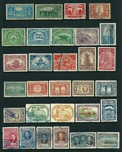 30 stamps - Honduras Air Post 1935-1949 used & MH