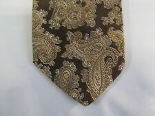 Paisley Vintage Tie Necktie 54 x 2.75 brown 13881