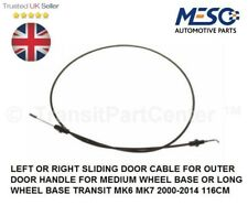 SIDE DOOR CABLE FOR OUTER HANDLE FORD TRANSIT MK6 MK7 2000-2014 HIGH ROOF M-L WB