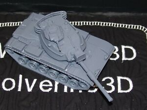 Flames Of War USA M60 A1 1/100 15mm FREE SHIPPING