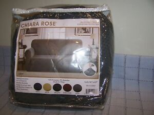 Chiara Rose Stretch Furniture Couch/Sofa Protector 96 x 63 - Brand New - Gray