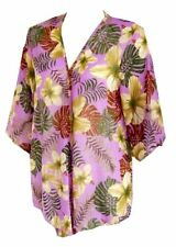 3/4 Sleeve Kimono Floral Tops & Shirts for Women
