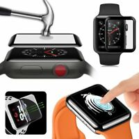 For Apple Watch Series 4 3D Curved Full Tempered Glass Screen Protector 40/44mm