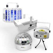 Set jeu de lumière DJ pro effets disco machine à fumée laser light jellyball LED