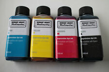 4x 100ml expression dye ink Epson Claria Home T2991 T2992 T2993 T2994 NON OEM