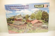 Faller H0 Set mit 5 Gebäudebausätze