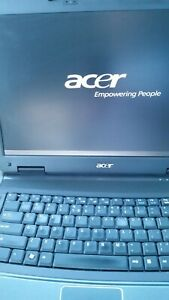 """Acer Extensa 5630 Laptop 15.4""""Core 2 Duo 2GHz 2GB DVD NO HARD DRIVE OR ADAPTOR"""