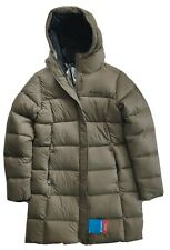 Columbia Women's Woodlyn Meadows Down Parka Puffer Jacket Olive Green Heather /S