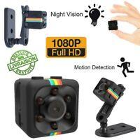 Mini Caméra Espion 1080p Surveillance SQ11 Micro Sans Fil HD Vision Nocturne DV