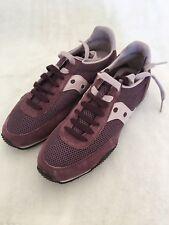 Saucony Streak Women's US Size 9.5 Lifestyle Running Sneaker Plum Purple
