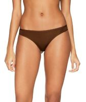 PANACHE PORCELAIN THONG STRING CHOCOLATE BROWN SIZE 12 KNICKERS PANTS 3379 NEW
