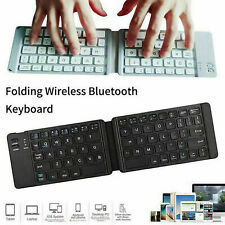 Folding Mini Keyboard Bluetooth Portable Foldable Wireless Keypad for Windows TG
